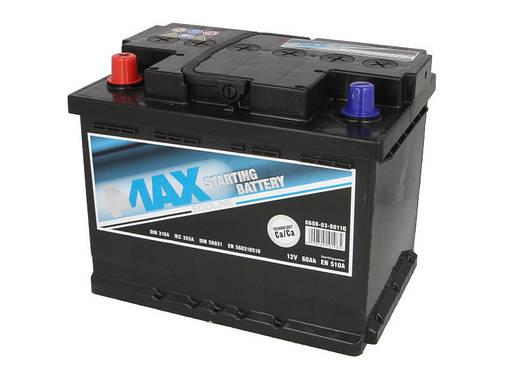 Аккумулятор 4Max Bateries 60Ah/540A L+(1) Ecoline 242x175x190, фото 2