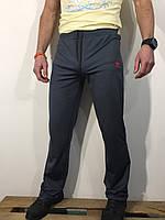 Штаны спортивные мужские серые 001