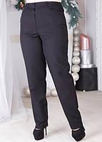 Черные деловые брюки 1216