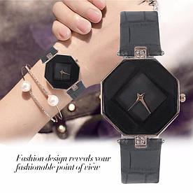 Часы женские наручные Cube black