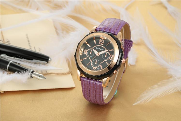 Часы наручные женские Geneva Spice purple