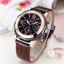 Часы наручные женские Geneva Spice brown