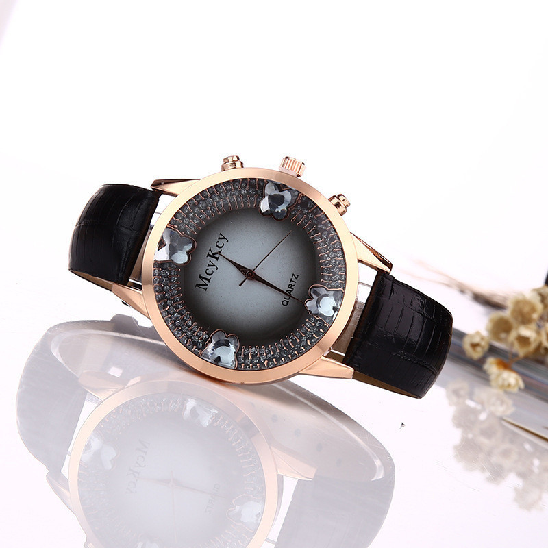 Часы наручные женские Gleam black