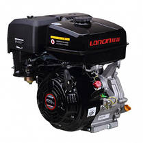 Двигатель бензиновый Loncin G420F (13 л.с., вал 25 мм, шпонка), фото 3