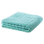ОФЬЕРДЕН Полотенце, зелено-синий, 100x150 см, 80190628 IKEA, ИКЕА, ÅFJÄRDEN