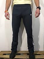 Штаны спортивные мужские темно-серые