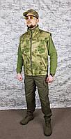 Жилет камуфляжный Атакс FG  на флисовой подкладе, фото 1