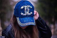 Кепка женская 55-57 см  джинс коттон  — купить купить оптом и в Розницу в одессе  7км