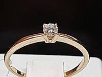 Золотое кольцо с бриллиантами. Артикул 501-00780