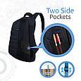 """Рюкзак для ноутбука Promate Zest 15.4"""" Blue, фото 7"""