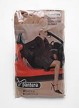 Плотные колготки 2 вставки микрофибра 100 d великан Дикая пантера