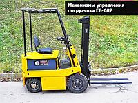 МЕХАНИЗМЫ УПРАВЛЕНИЯ ЭЛЕКТРИЧЕСКОГО ПОГРУЗЧИКА EB-687