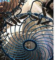 Кастинговая сеть Американка с КОЛЬЦОМ ФРИСБИ диаметр 4,3 метра, высота 2 метра, леска яч. 12 мм