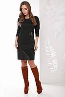Модное женское платье Мальта черный (42-50)