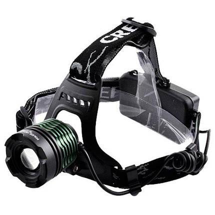 Мощный налобный LED фонарь POLICE BL-2188B T6, фото 2