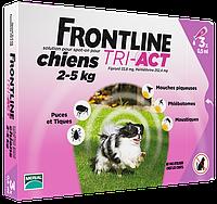 Merial FrontLine Tri-Act - капли для собак от 2 до 5кг ( 3пипетки)