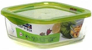 Luminarc Keep*n*Box Емкость д/пищи квадрат.380мл L8784