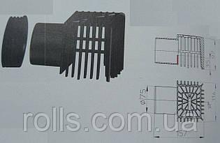 HL068.1E уловлювач листя для парапетних воронок HL68H.0/110 HL68P.0/110 HL68F.0/110 аварійний водовідведення