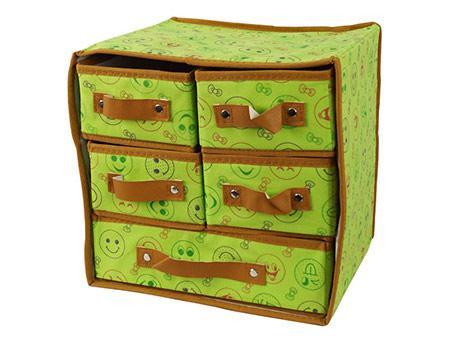 Складной органайзер для белья с выдвижными ящиками