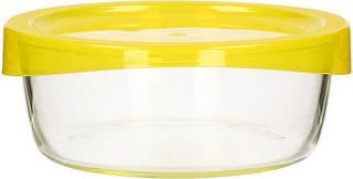 Luminarc Keep*n*Box Емкость д/пищи кругл.880мл желтая крышка L7745