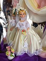 Кукла невеста Лавиния (40 см.) фарфоровая