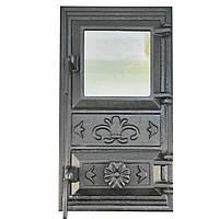 Дверцы для печи со стеклом Fenix 128