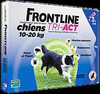 Merial FrontLine Tri-Act - капли для собак от 10 до 20кг ( 3пипетки)
