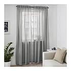 Гардины IKEA HILJA 1 пара 145x300 см серый 903.907.35, фото 4