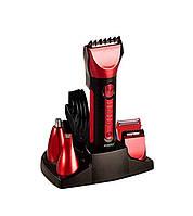Машинка для стрижки волос 5в1 Gemei GM-8058 Электробритва мужская  электрическая бритва