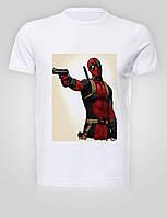 Футболка мужская размер L GeekLand Дэдпул Deadpool с пистолетомDP.01.001