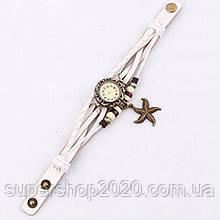 Часы-браслет винтажные Stars White