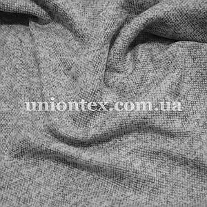 Трикотаж ангора софт меланж светло-серый