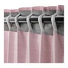 Гардины IKEA HILJA 1 пара 145x300 см розовый 803.907.45, фото 4