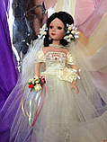 Кукла невеста Арлена (40 см.) фарфоровая, фото 4