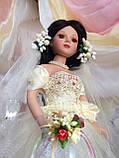 Кукла невеста Арлена (40 см.) фарфоровая, фото 7