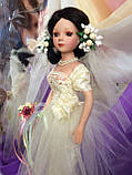 Кукла невеста Арлена (40 см.) фарфоровая, фото 9