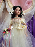 Кукла невеста Арлена (40 см.) фарфоровая, фото 3