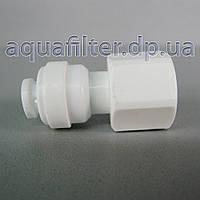 Муфта Organic прямая 1/4 ВН резьба - 1/4 шланг, фото 1