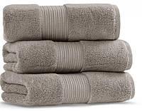 Махровое полотенце 30х50 CASUAL AVENUE Chicago Warm Gray из гидрохлопка , фото 1
