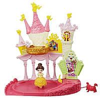 Игровой набор Hasbro Disney Princess - Дворец Белль с крутящейся куклой (E1632), фото 1