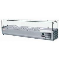 Витрина холодильная настольная для топпинга FROSTY VRX1500/330