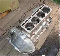 Блок цилиндров Газель,Волга двигатель.406 (производство ЗМЗ)