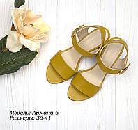 Босоножки на каблуке 6 см., фото 1
