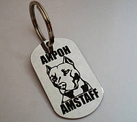 Жетон Адресник для собак и кошек Медальон с лазерной гравировкой