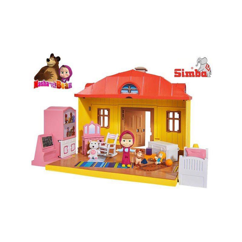 Будиночок Маші з фігуркою Маші і аксесуарами Simba 9301633