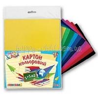 Набор цветного картона (глянцевый) А4