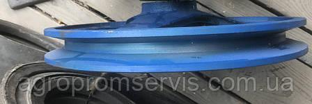 Шкив Ф-260мм. вал Ф-30мм  профиль ремня УВ, фото 2