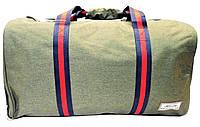 Интересная дорожная сумка зеленого цвета XWX-983330, фото 1