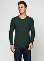 Пуловер мужской DIESEL цвет темно-зеленый размер L арт 00SFFB00SUI