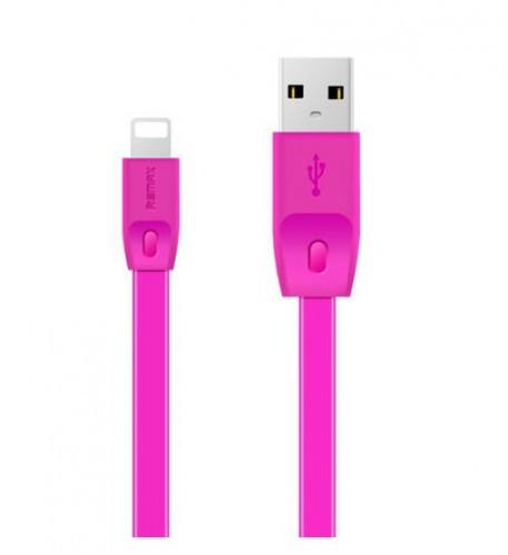 Lightning кабель Full Speed 2m pink Remax 300026